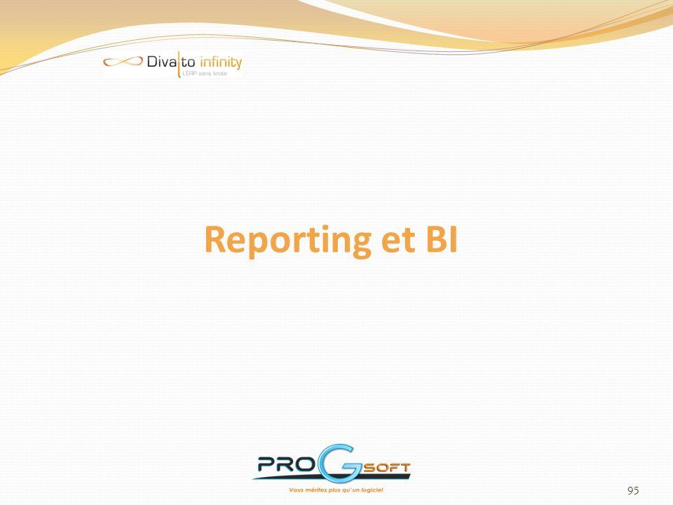 Reporting et BI