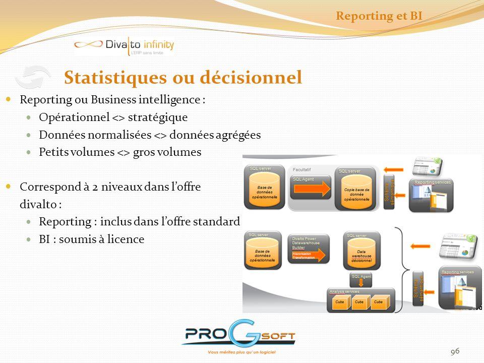 Statistiques ou décisionnel