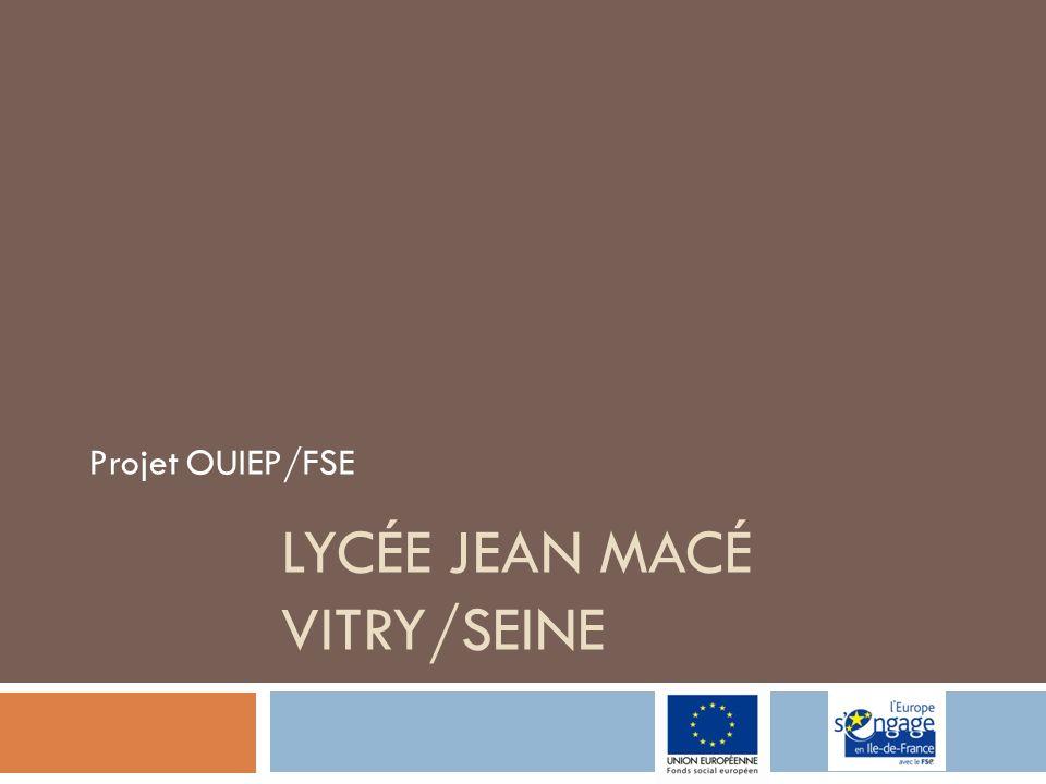 Lycée Jean Macé Vitry/seine