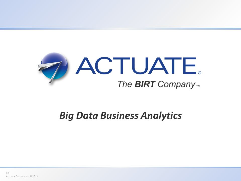 Big Data Business Analytics