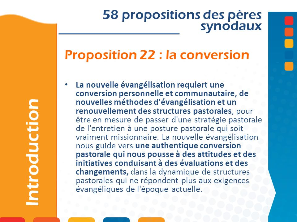 Proposition 22 : la conversion