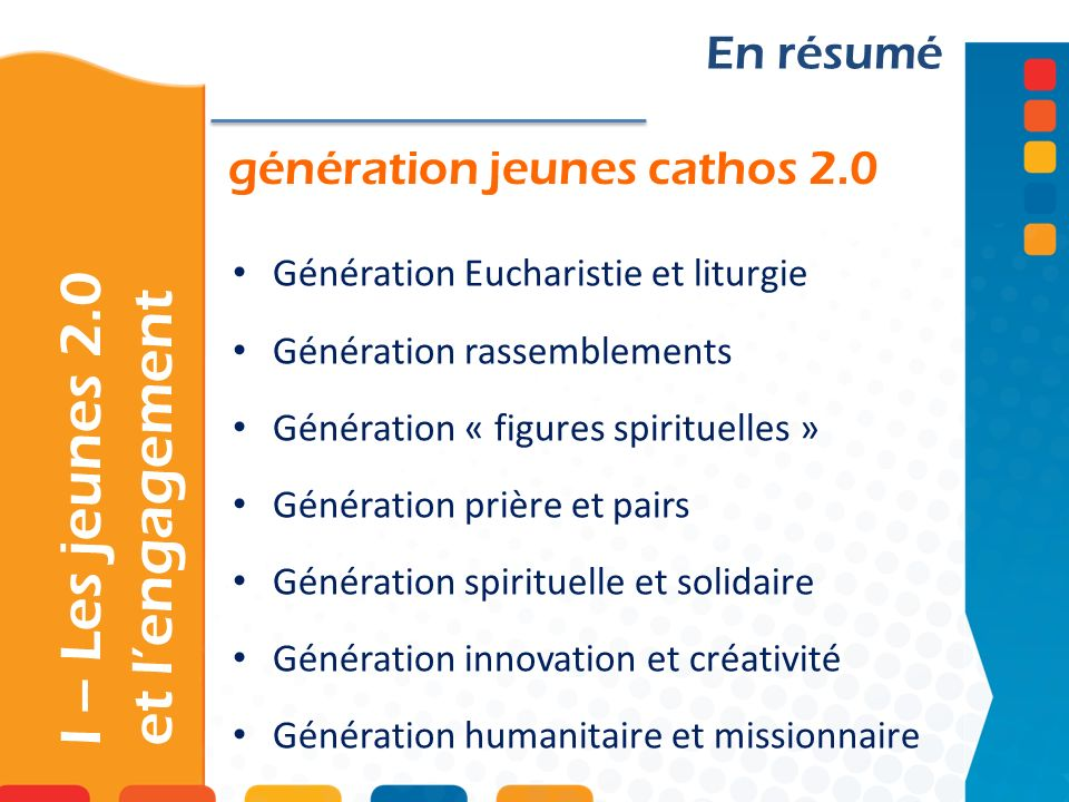 I – Les jeunes 2.0 et l'engagement