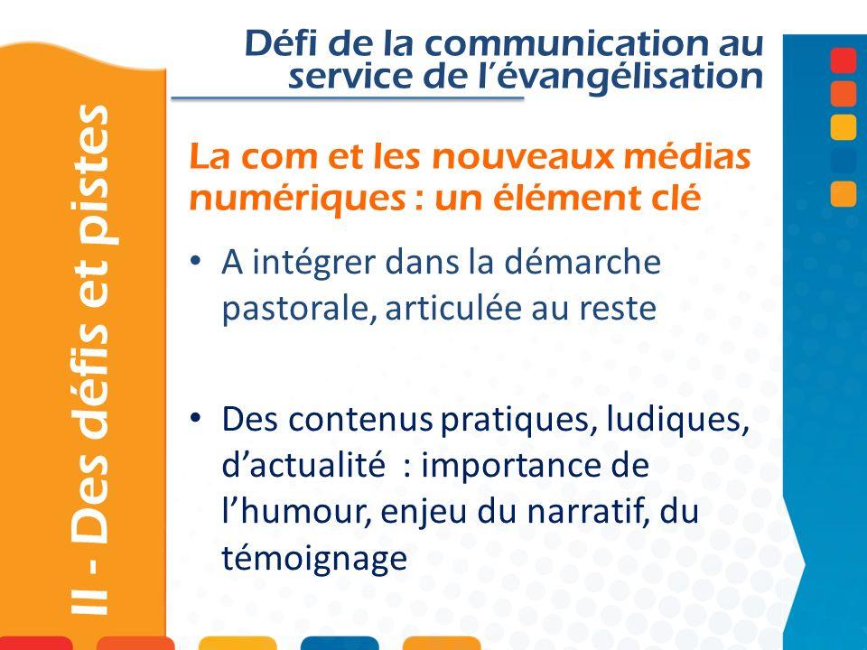 La com et les nouveaux médias numériques : un élément clé