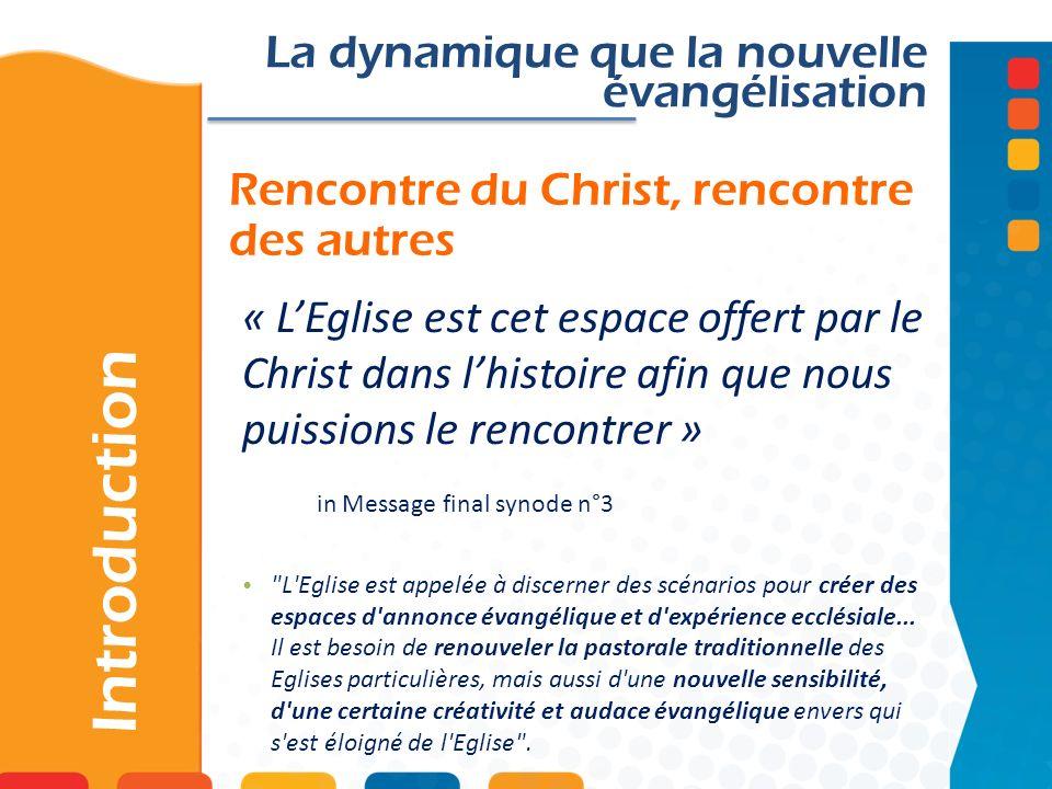 Rencontre du Christ, rencontre des autres