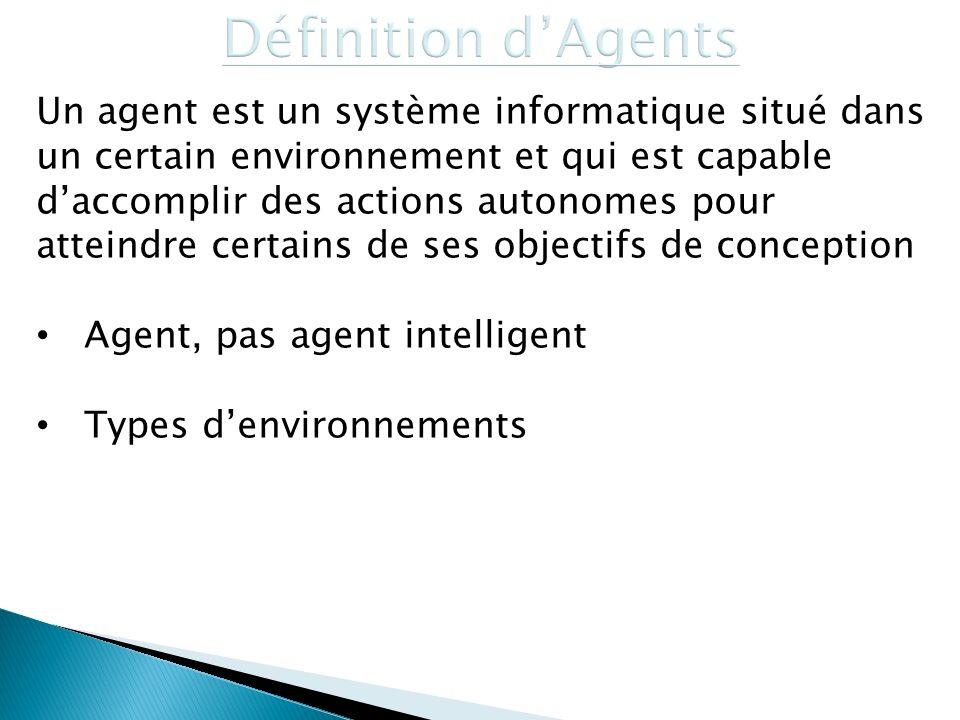 Définition d'Agents