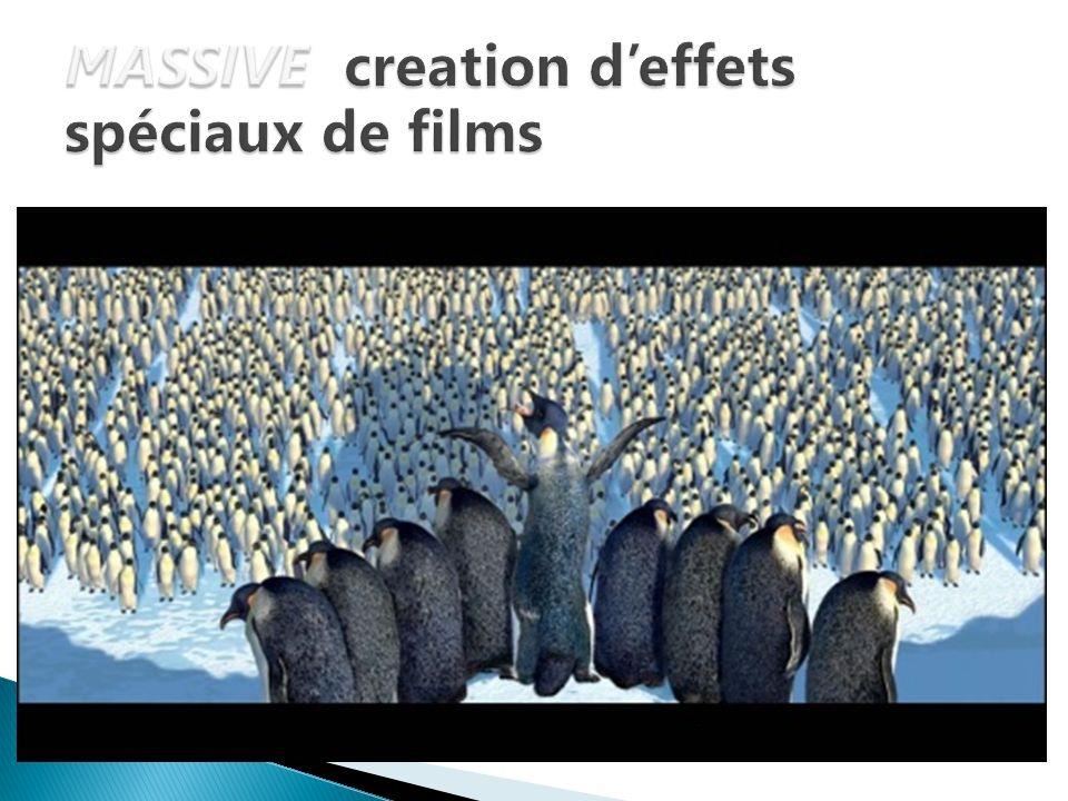 MASSIVE creation d'effets spéciaux de films