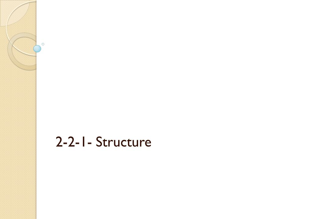 2-2-1- Structure