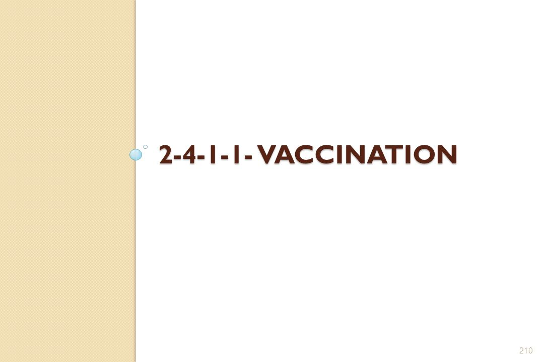 2-4-1-1- Vaccination