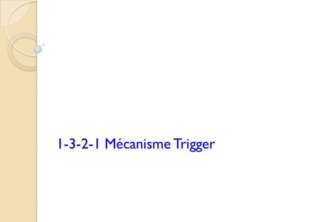 1-3-2-1 Mécanisme Trigger