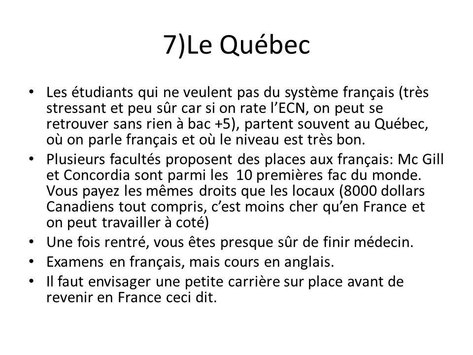 7)Le Québec