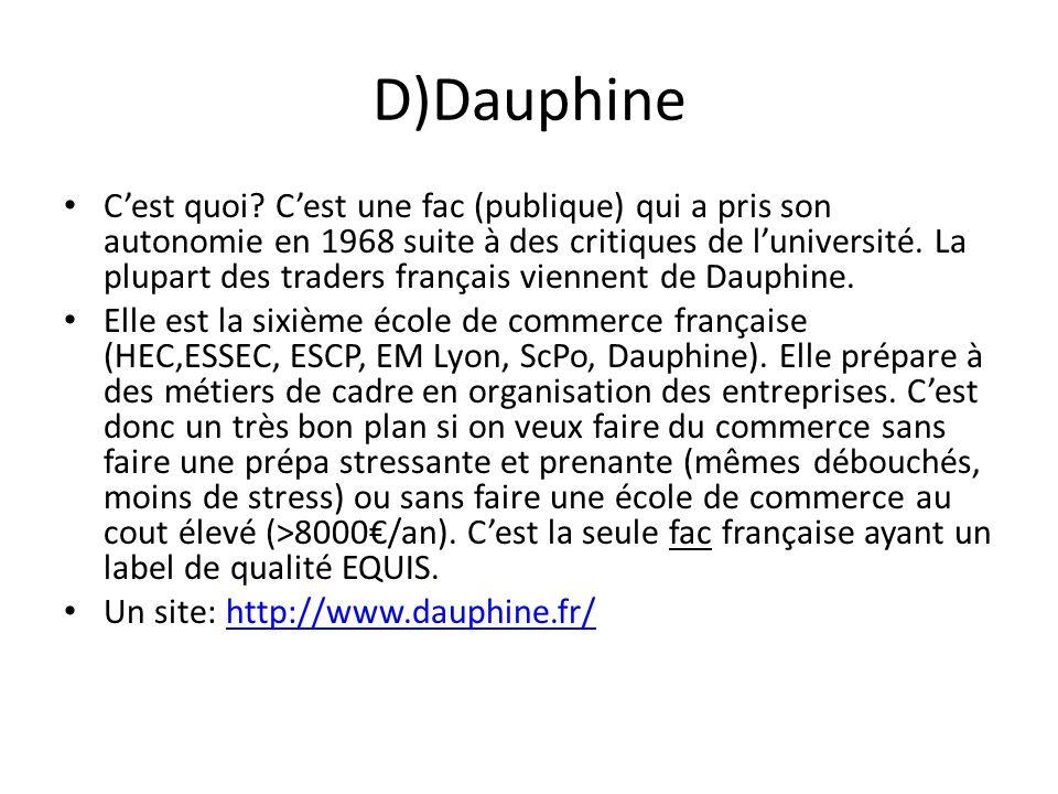 D)Dauphine