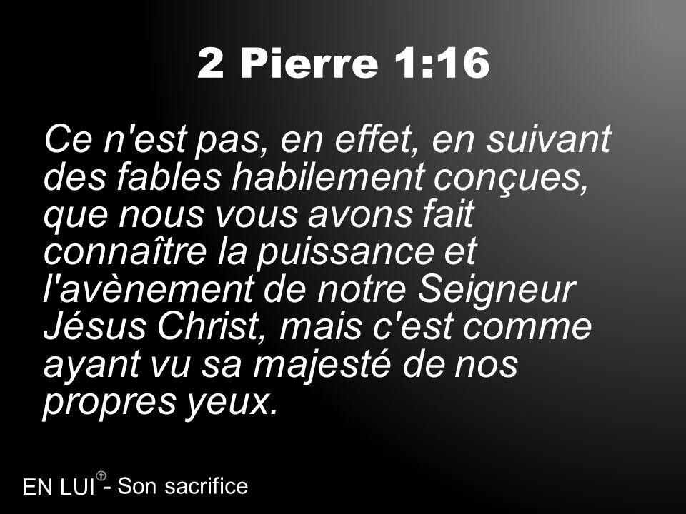 2 Pierre 1:16