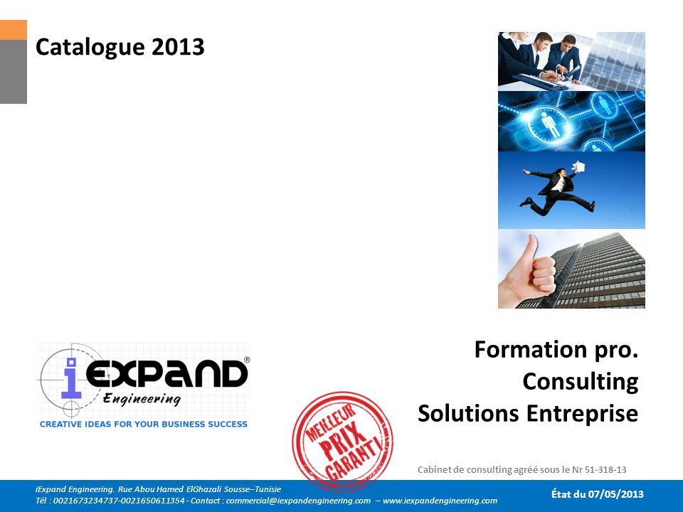 Formation pro. Consulting Solutions Entreprise