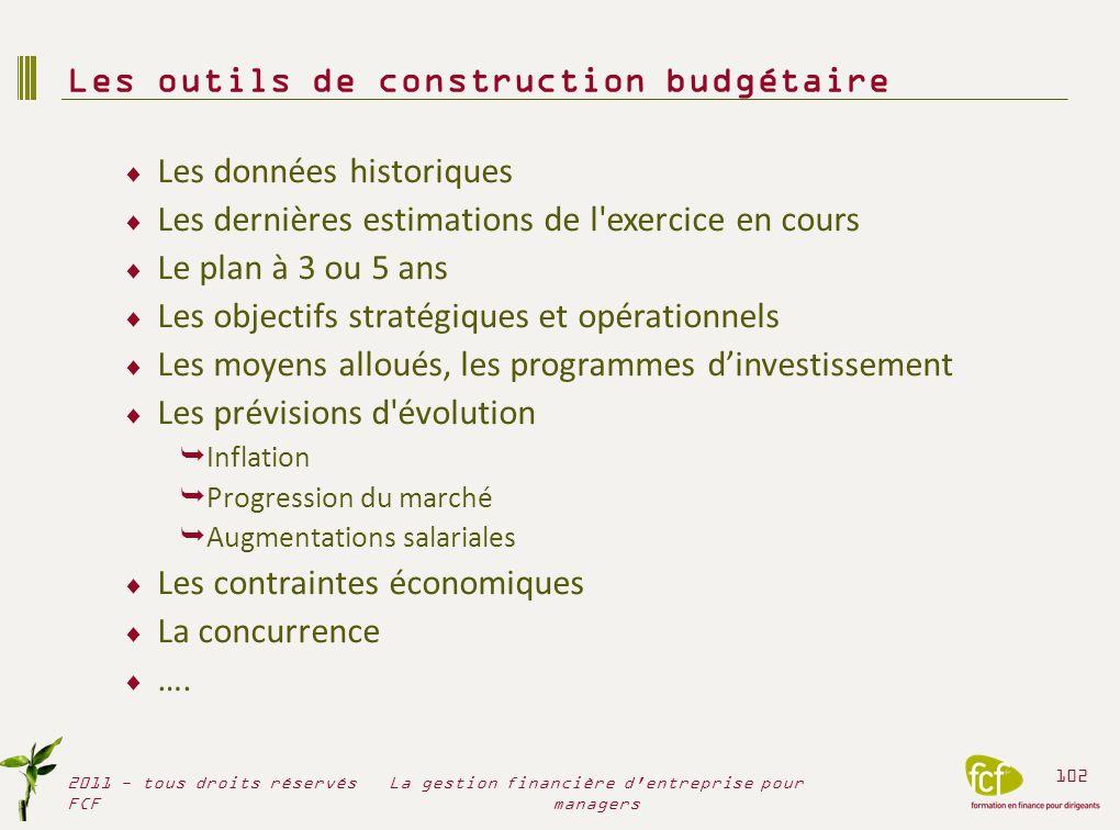 Les outils de construction budgétaire