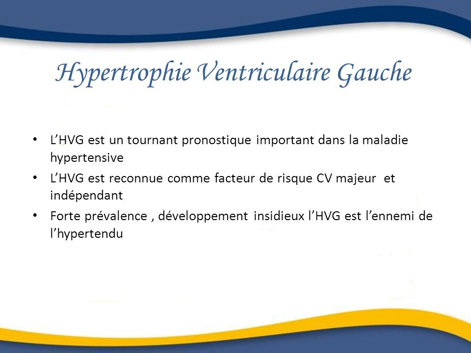 Hypertrophie Ventriculaire Gauche