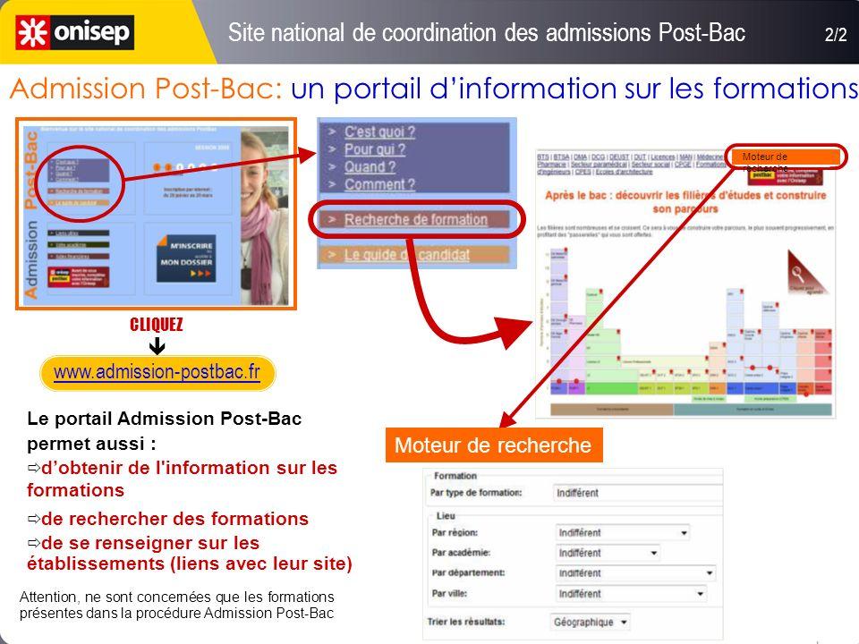 Admission Post-Bac: un portail d'information sur les formations