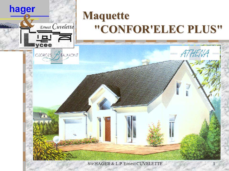 Maquette CONFOR ELEC PLUS