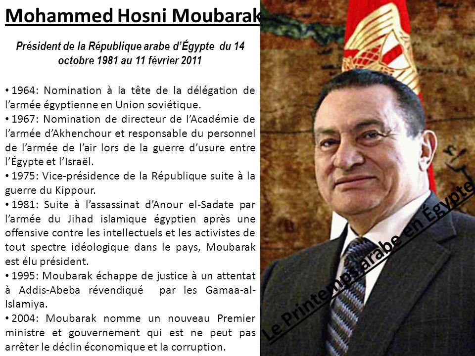 Le Printemps arabe en Égypte