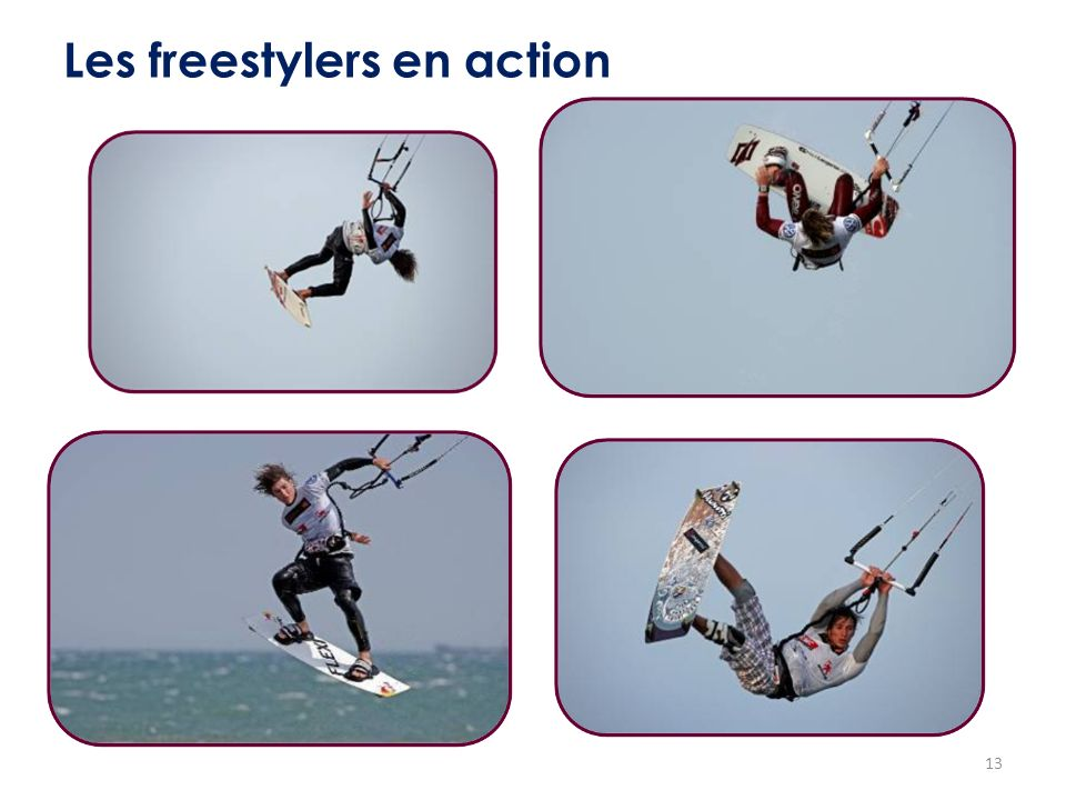 Les freestylers en action