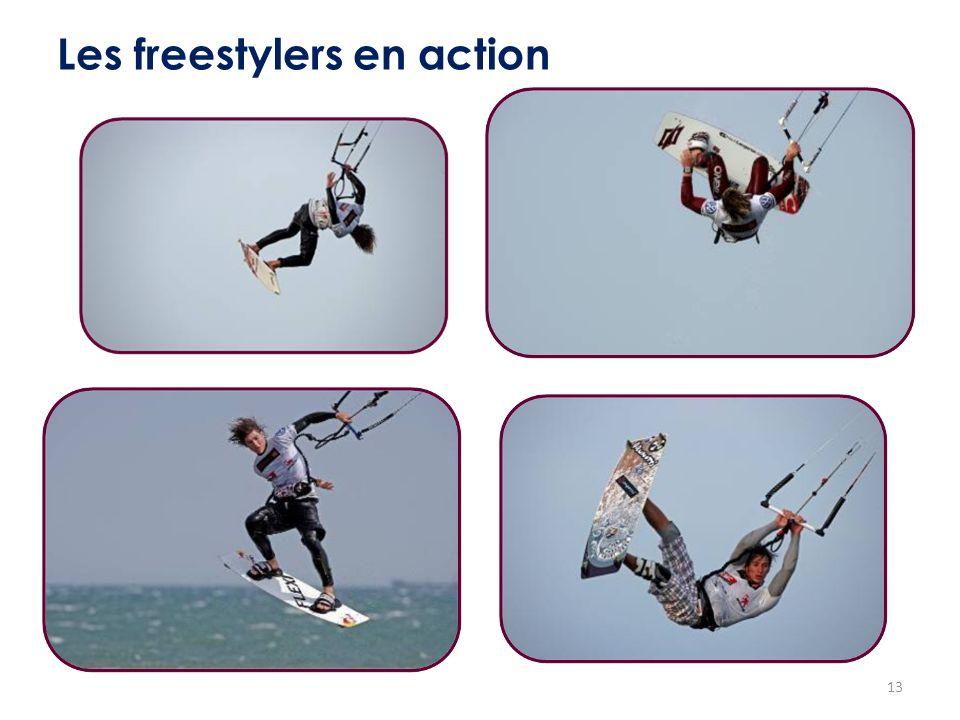 Les freestylers en action