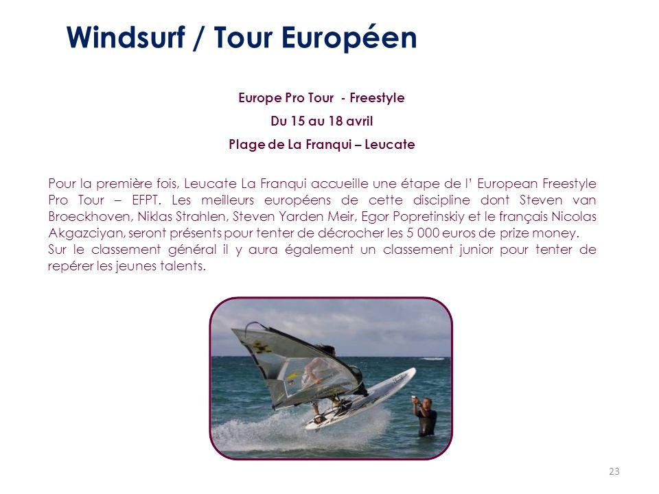 Windsurf / Tour Européen