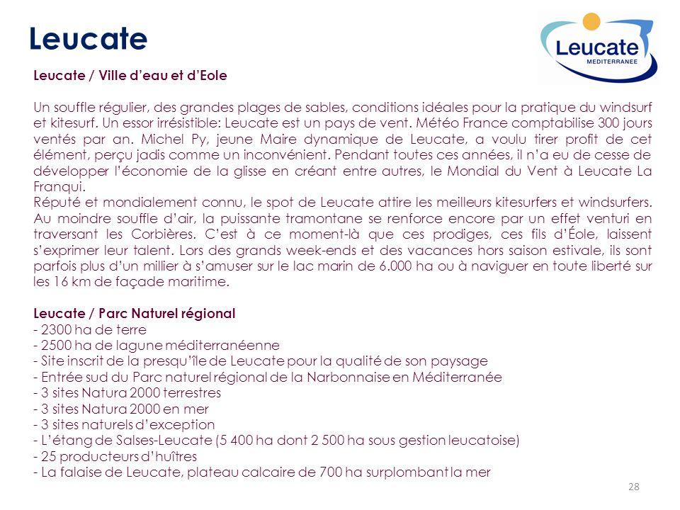 Leucate Leucate / Ville d'eau et d'Eole