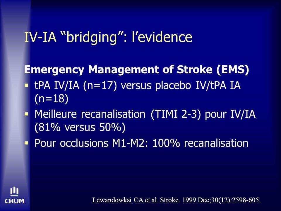 IV-IA bridging : l'evidence