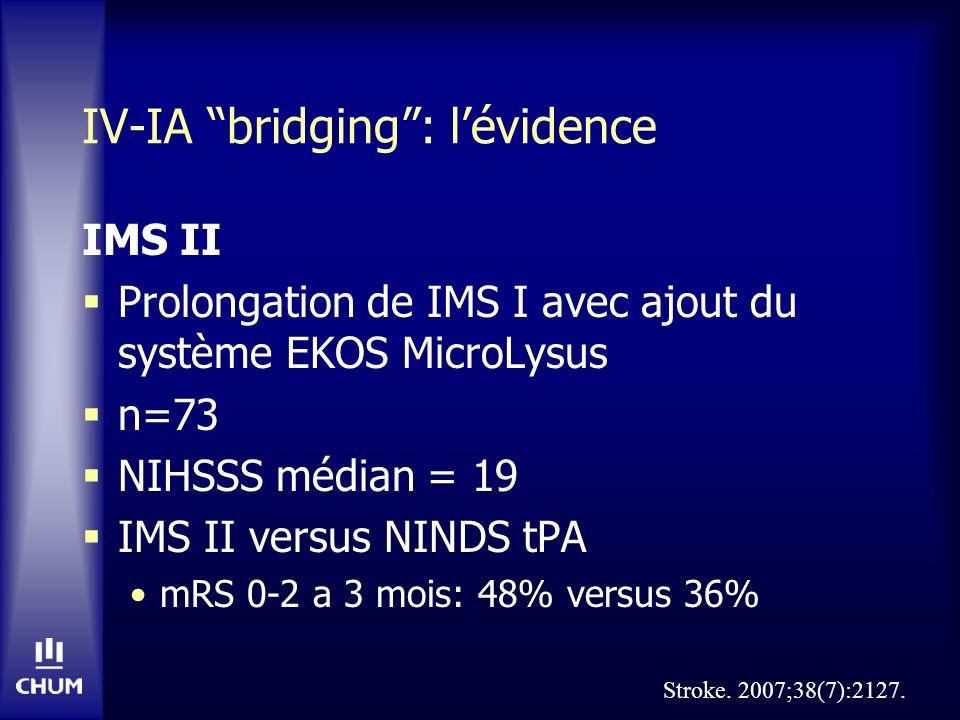 IV-IA bridging : l'évidence