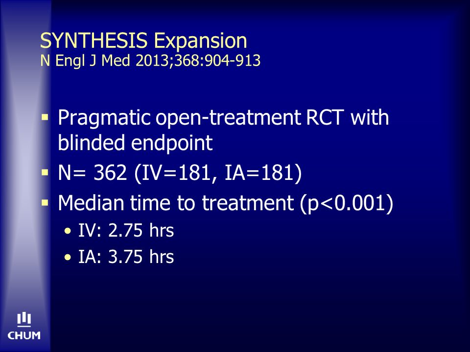 SYNTHESIS Expansion N Engl J Med 2013;368:904-913
