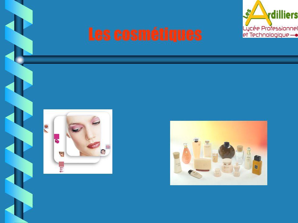 Les cosmétiques