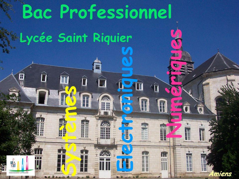 Numériques Electroniques Systèmes Lycée Saint Riquier