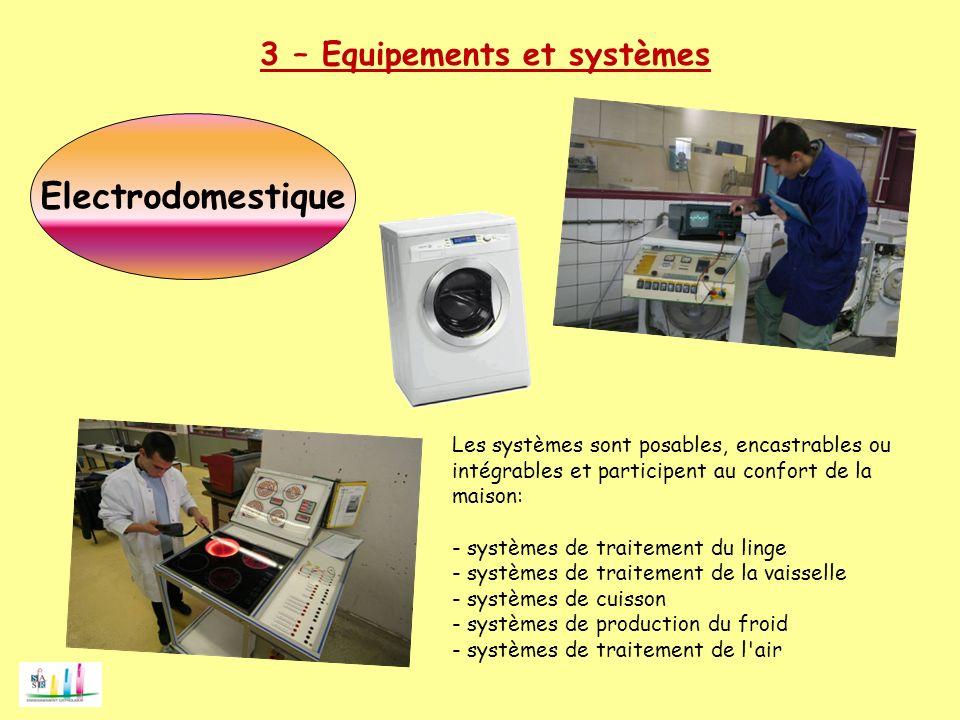 Electrodomestique 3 – Equipements et systèmes