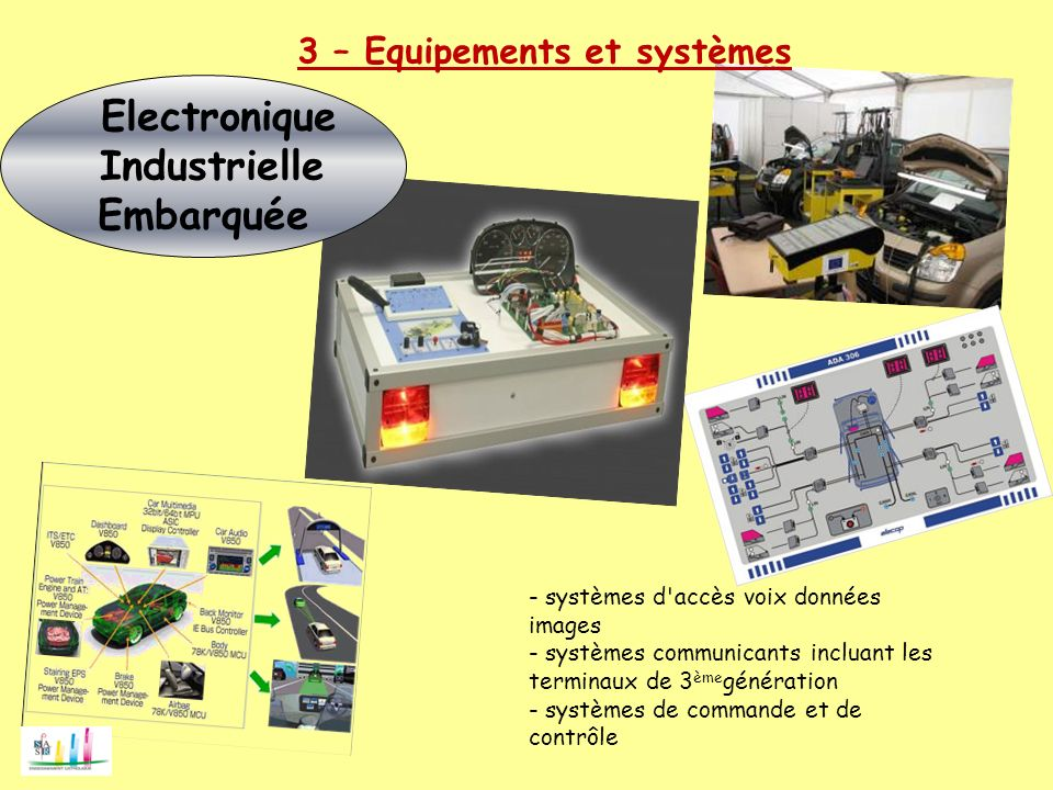 Electronique Industrielle Embarquée