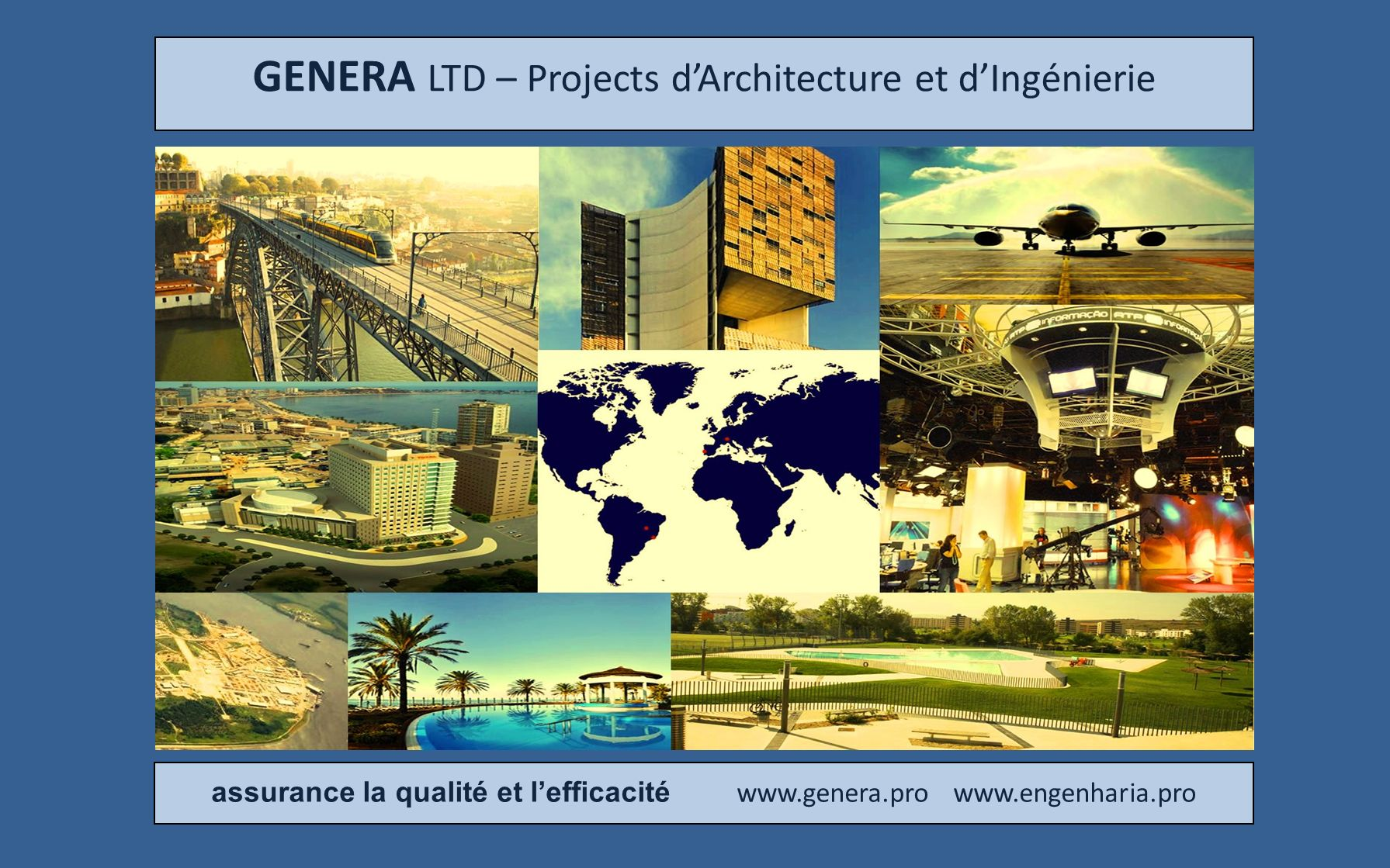 GENERA LTD – Projects d'Architecture et d'Ingénierie