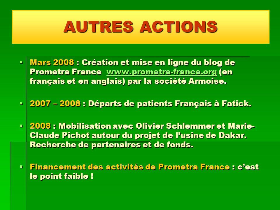 AUTRES ACTIONS