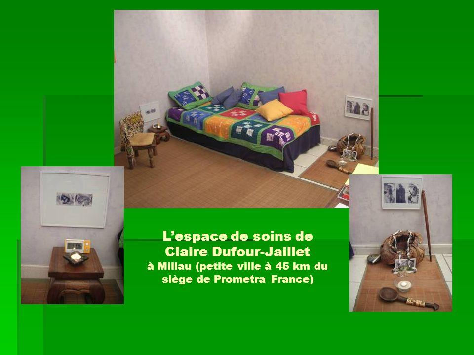 L'espace de soins de Claire Dufour-Jaillet