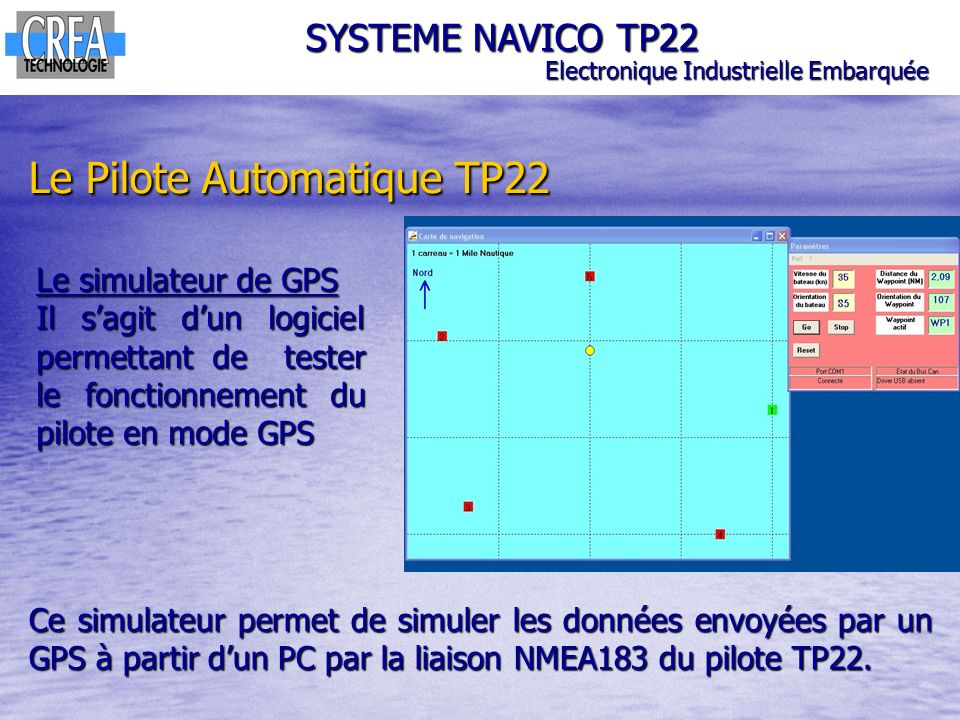 Le Pilote Automatique TP22