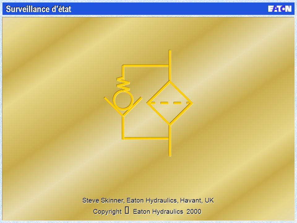 Surveillance d état Steve Skinner, Eaton Hydraulics, Havant, UK