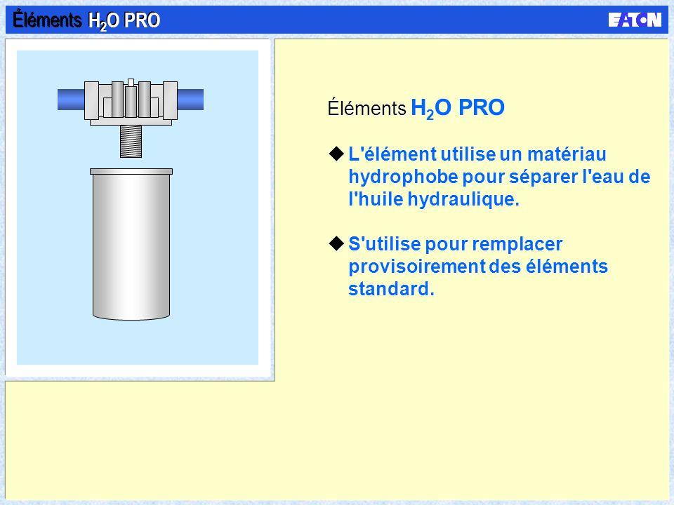 Éléments H2O PRO Éléments H2O PRO