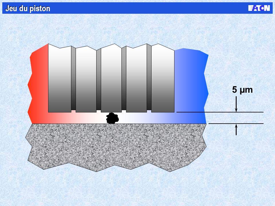 Jeu du piston 5 µm