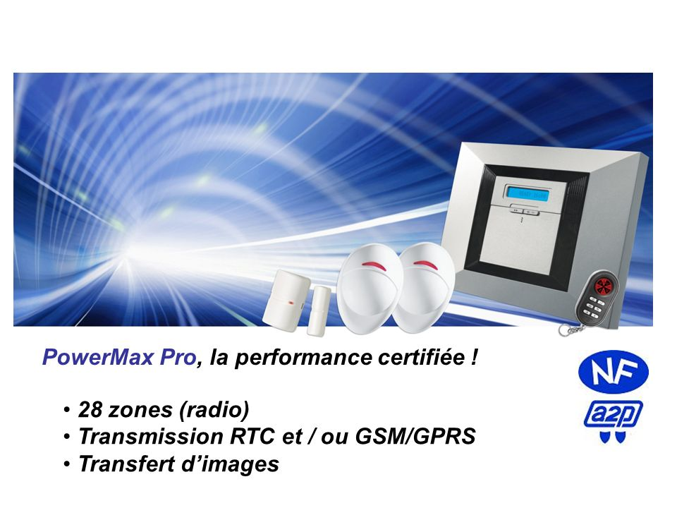 PowerMax Pro, la performance certifiée !