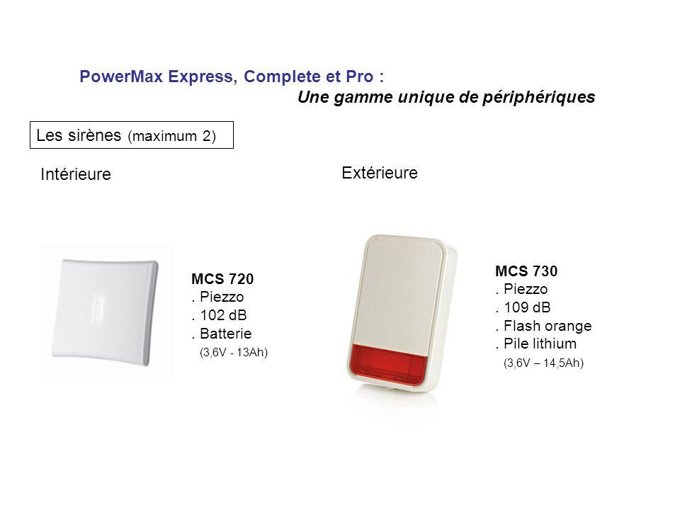 PowerMax Express, Complete et Pro : Une gamme unique de périphériques