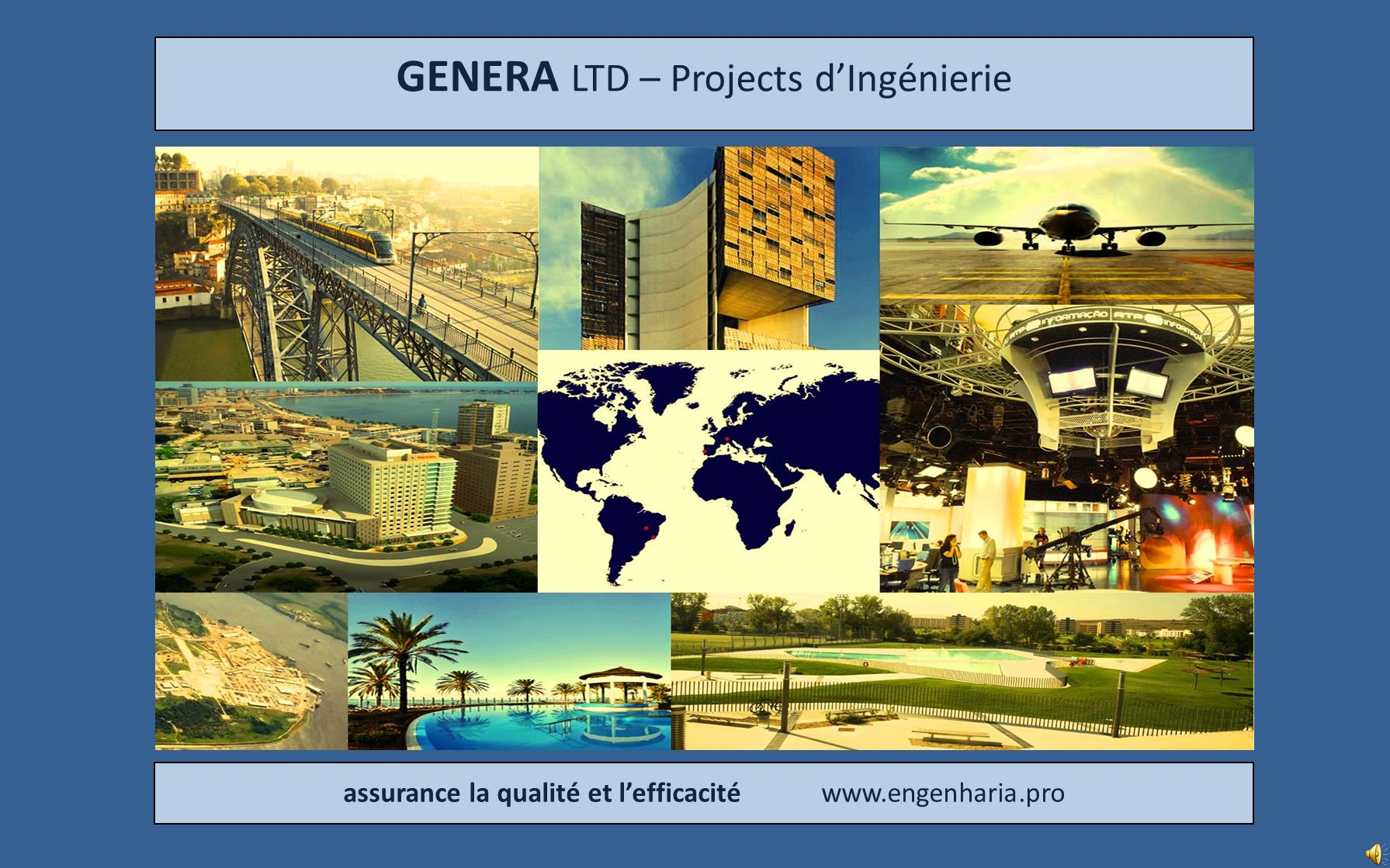 GENERA LTD – Projects d'Ingénierie