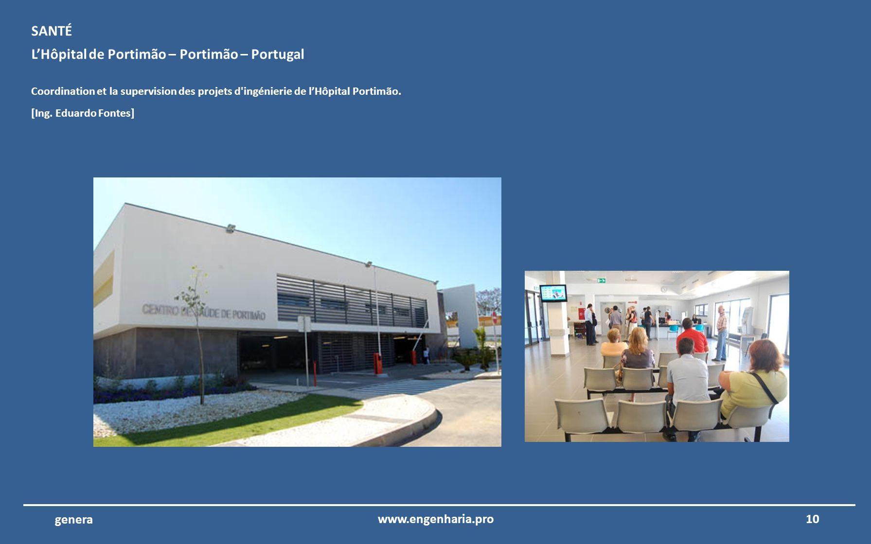 L'Hôpital de Portimão – Portimão – Portugal