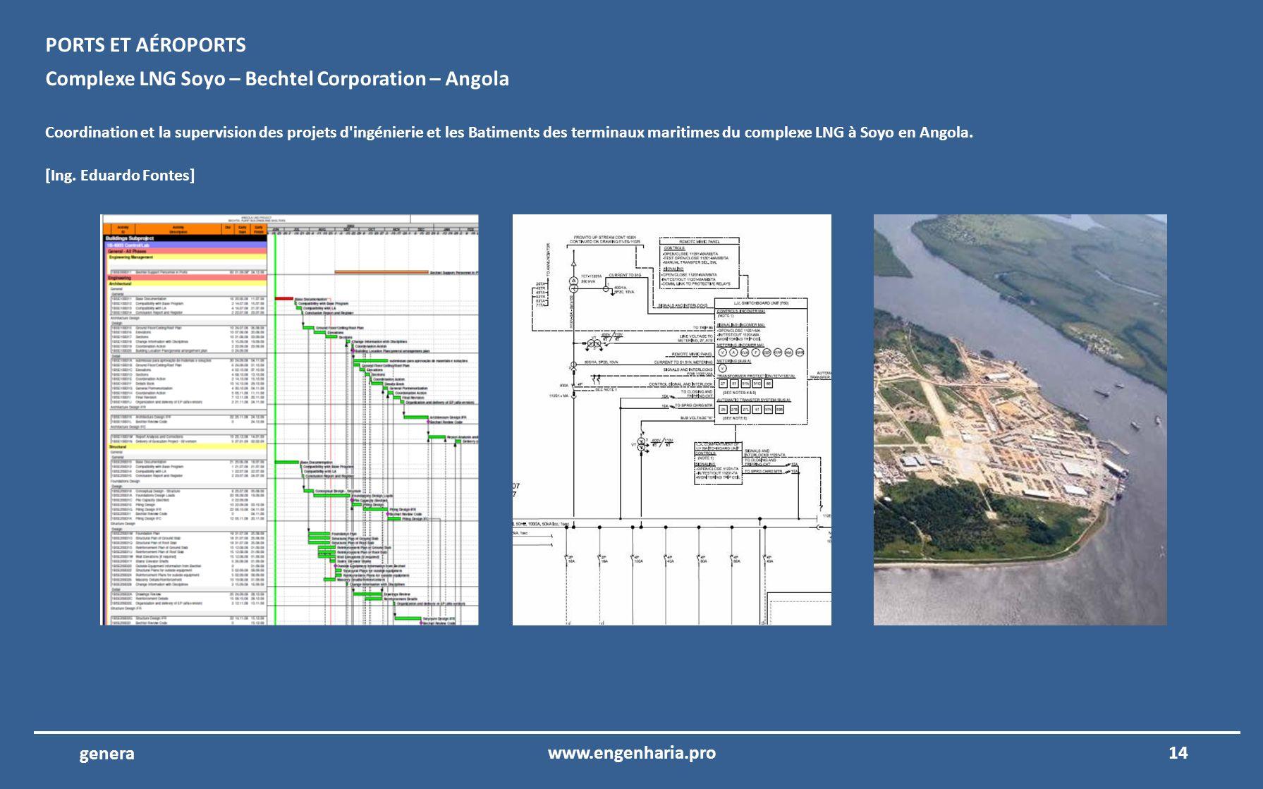Complexe LNG Soyo – Bechtel Corporation – Angola