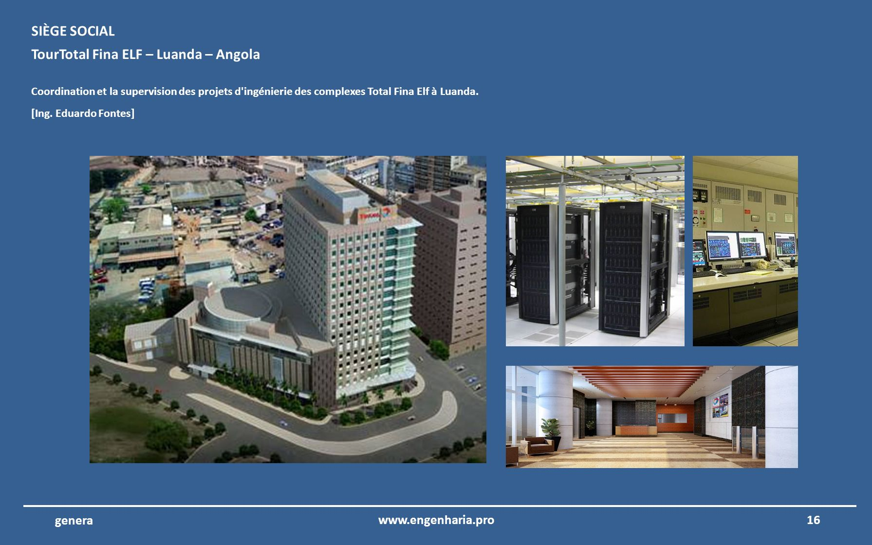 TourTotal Fina ELF – Luanda – Angola