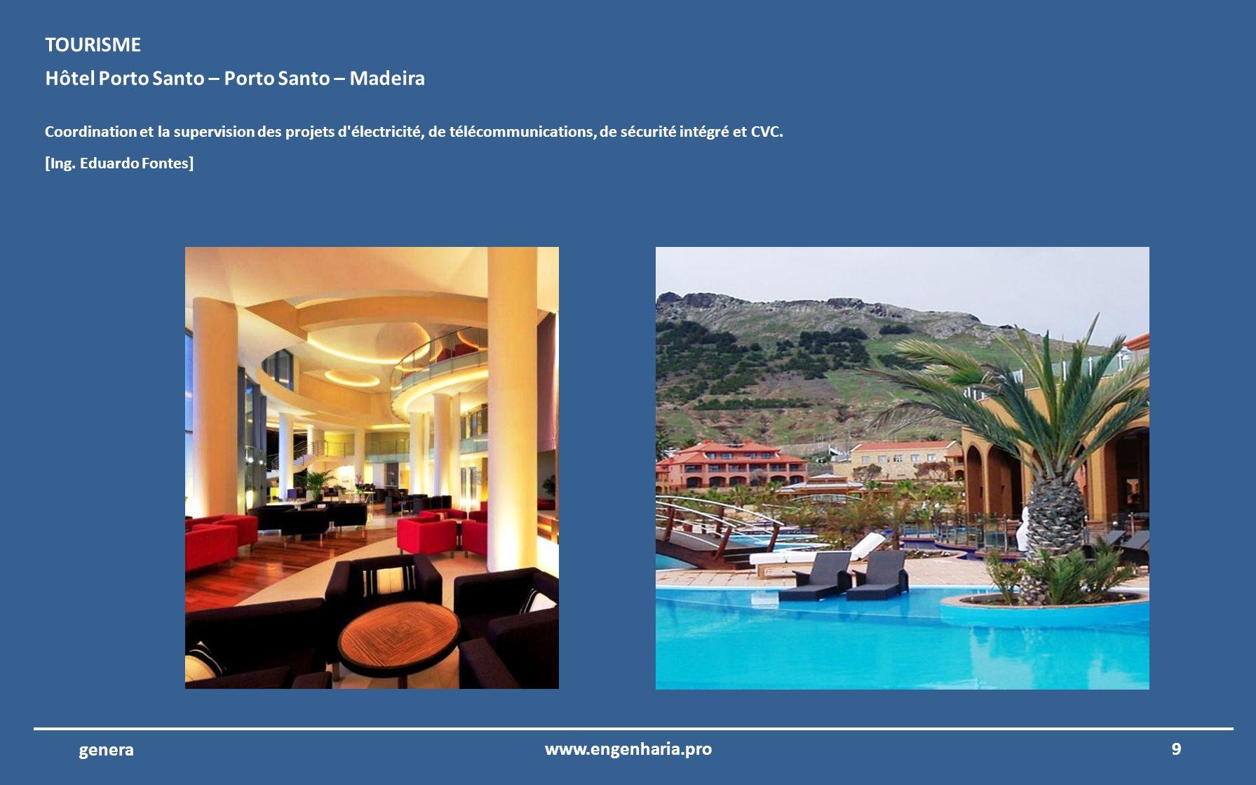 Hôtel Porto Santo – Porto Santo – Madeira
