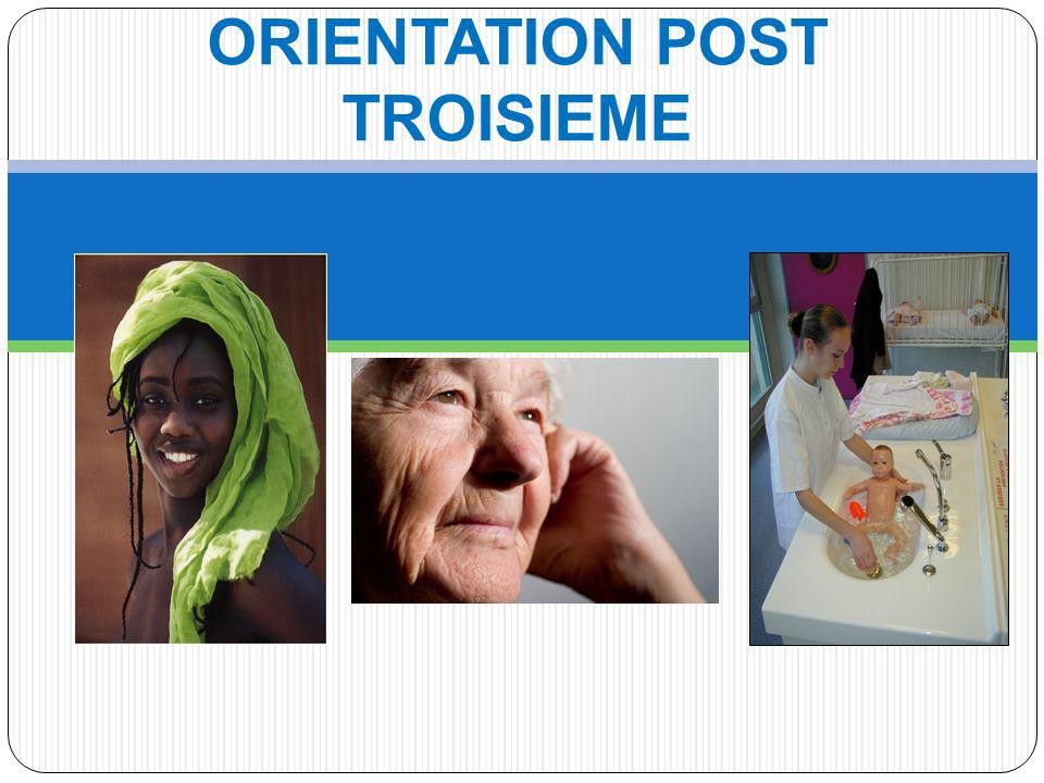 ORIENTATION POST TROISIEME