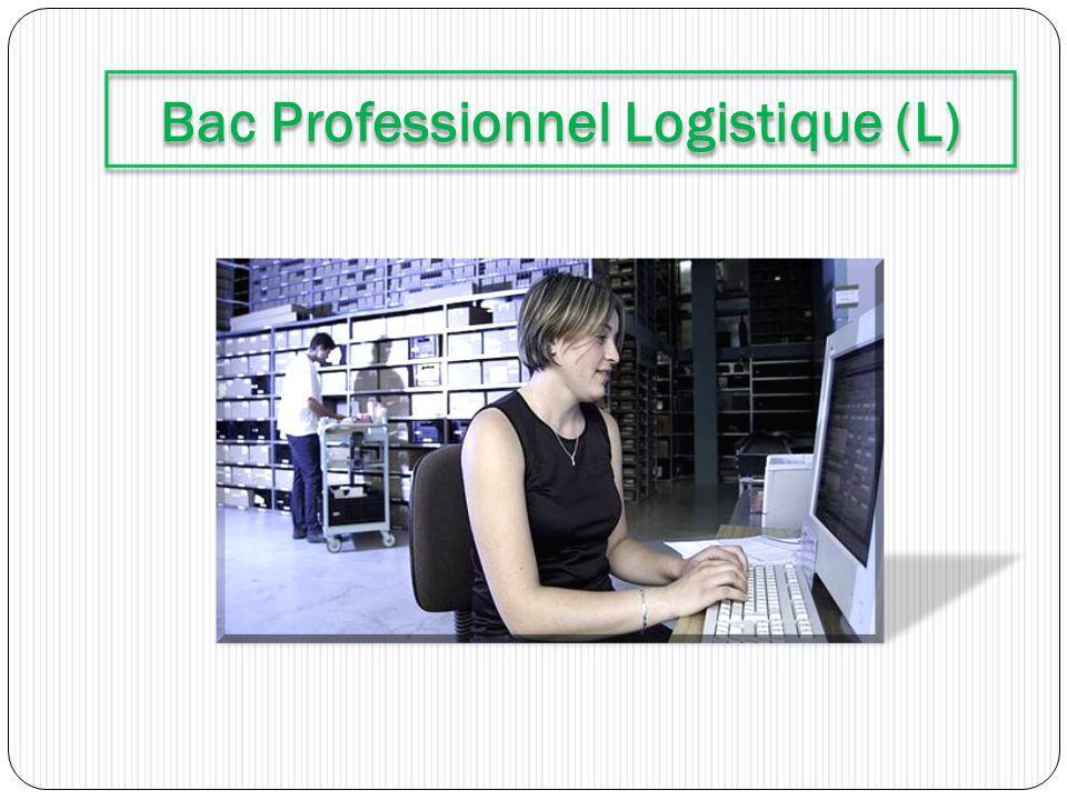 Bac Professionnel Logistique (L)
