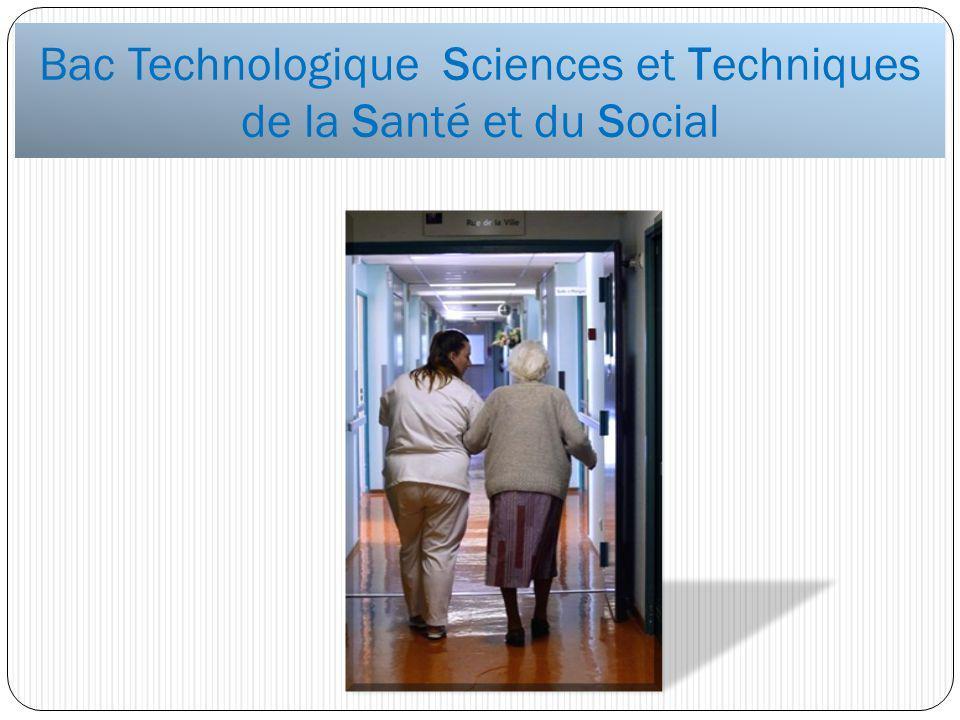 Bac Technologique Sciences et Techniques de la Santé et du Social